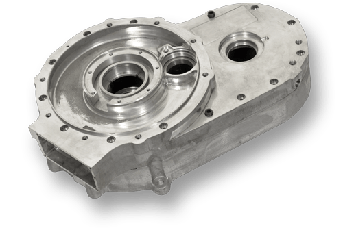Gear box casing